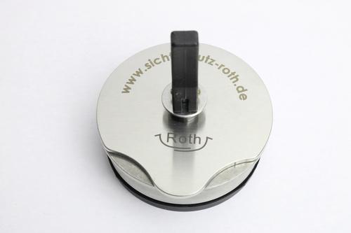 Grundträger mit Saugnapf, für Adapter Halter u. Haken
