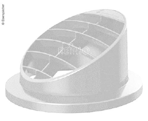 Ausströmer hoch 30° f. Standheiz. Airtronic D2, Ø50/60mm, weiß