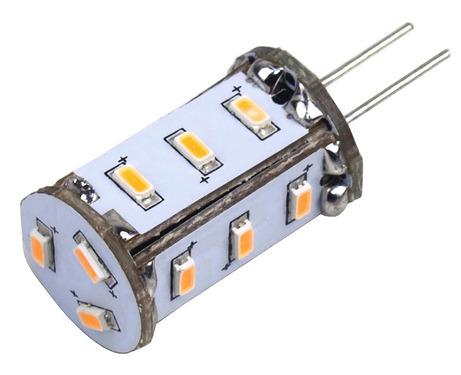 LED Leuchtmittel G4, 1W, 82 Lumen, 15x warmweiße SMD