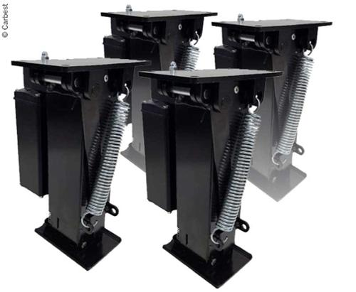 Carbest Autolift für Fahrzeuge bis 5 Tonnen - Mit 4 Hubstützen