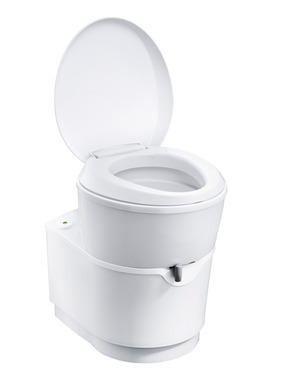 Cassette toilet C223-S flush electric white 18L