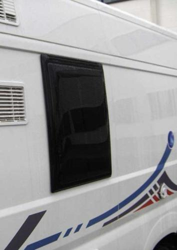 Externally fitted hinged window for Ducato models from 2002 to 2006