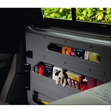 DOOR STORE, storage compartment for right sliding door VW T5/T6