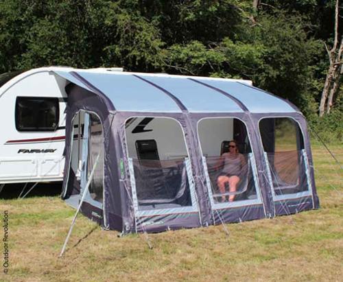 Inflatable Caravan Partial tent E-Sport Air 400