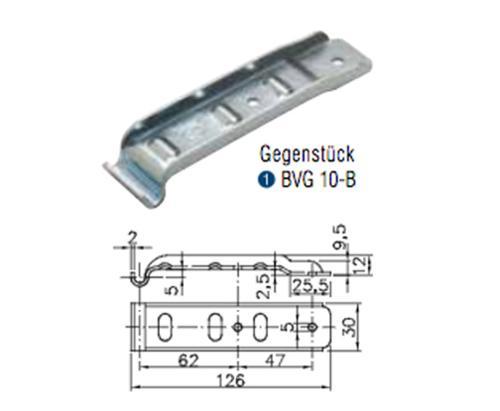 Winterhoff Counterpart Dropside closure BVG 10-B