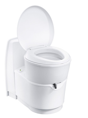 Cassette toilet C223-CS, electrical flushing white 18