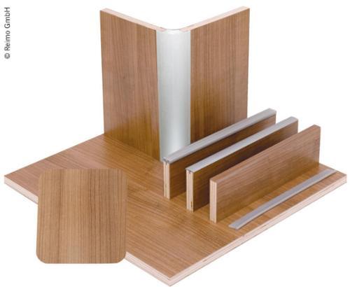 Möbelbauplatte Nussbaum Schichtstoff, HPL, 1/4 Platte