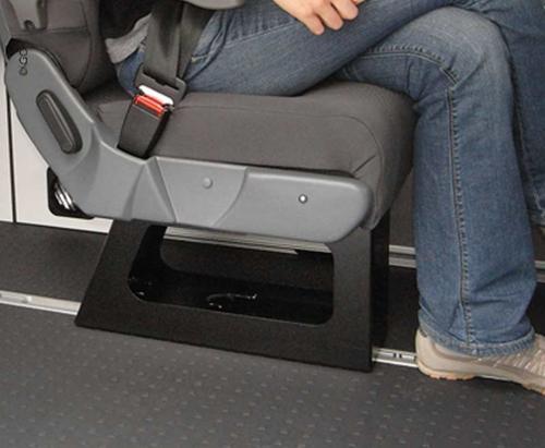 Onderstel voor enkele stoel A400 bij VW T6/T5, Renault Trafic, Mercedes Vito