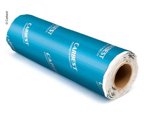 Soundproof insulation Alubutyl, self-adhesive, 2mm thick, 500x40cm