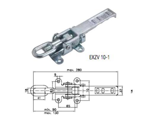 Winterhoff eccentric shutter EXZV 10-1