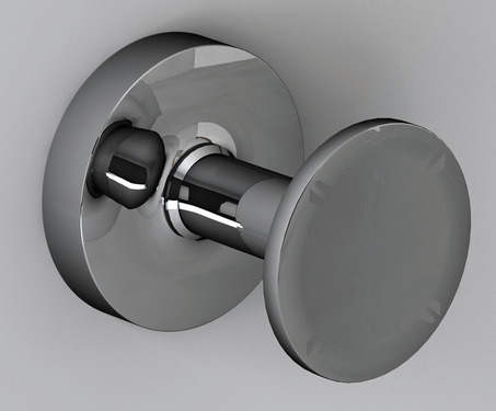 hook chrome plated stainless steel, 56x46x56mm