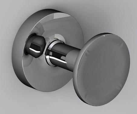 Hook forkromet rustfrit stål, 56x46x56mm