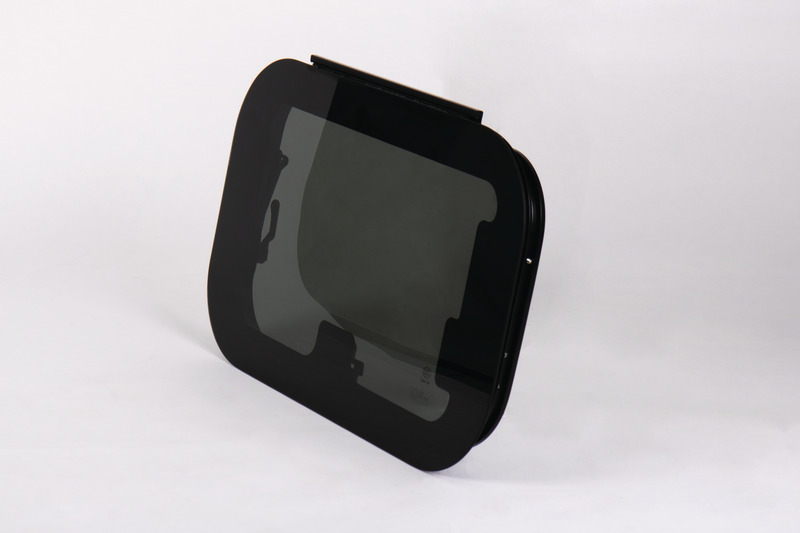 RW Eco, displayvindue af ægte glas 350x500