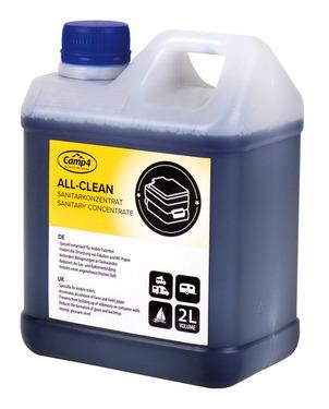 All-Clean sanitær koncentreret 2 liter