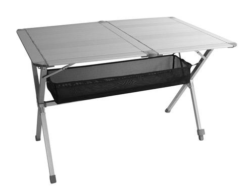 Table de camping enroulable CAMP4 en aluminium TITAN 2 - Table de camping REIMO