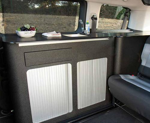 Citroen Spacetourer Trip Kitchen module, matt black structure