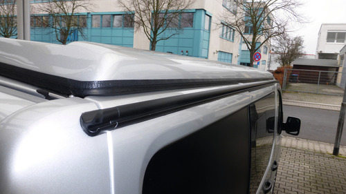 Multirail Regenrinne Zeltbefestigungsschiene VWT4/T5/T6