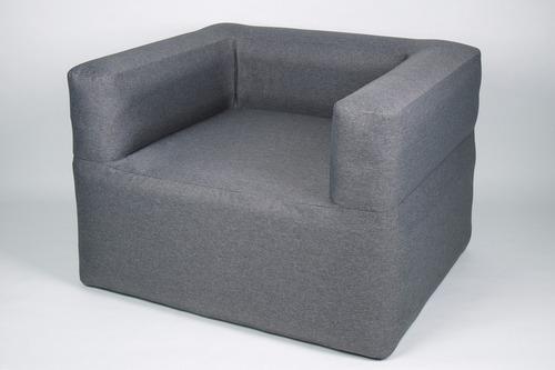 HOLIDAY TRAVEL - aufblasbarer Sessel, grau-meliert