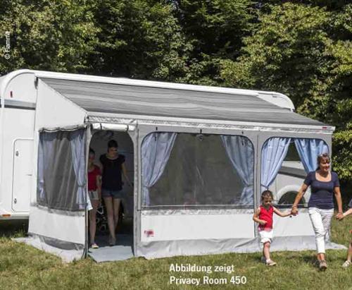 Fiamma Markise privatliv plads til eftermontering, bredde 425cm