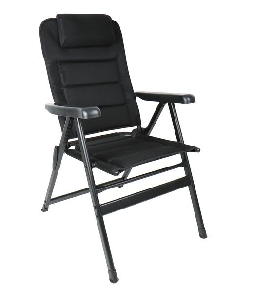 Kamp sandalyesi MALAGA BREEZE PLUS, Camp4, yastıklı, sürgülü başlık