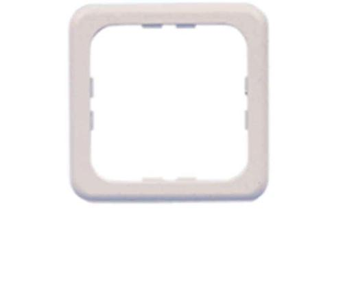 Socket outlet single frame white, loose