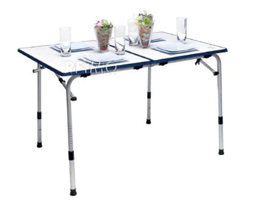 Table de camping Grenada, pliable 120x80cm