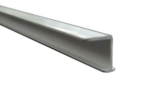 Curtain rail single run plastic