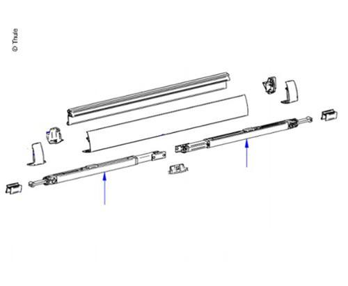 Pied de support V2 2,6m-XL 3x