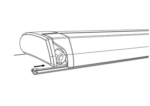 Thule Kederschienen Kit für Dachmarkisen