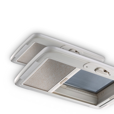 Midi-Heki Style 700x500mm grå underwired med tvungen ventilation