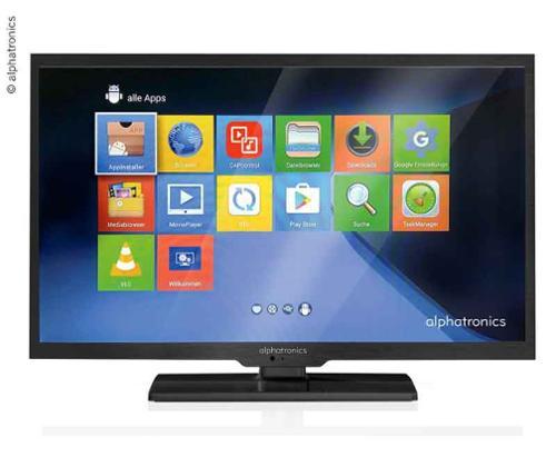 ALPHATRONICS LED Fernseher Triple Tuner DVB-S2/DVB-T2/DVB-C