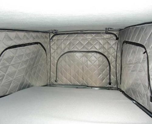 Thermomatten für Klappdach VW T5/6 kurzer Radstand