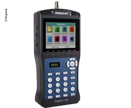 Sat-Finder und SAT-Messgerät Digital 1 HD