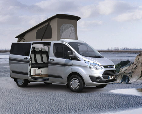 Markise Omnistor 4900 + Adapter Ford Custom 2,6m, für rechte Seite