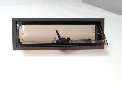 Campervan vent window, aluminum, 460 x 160 mm (model 2000)