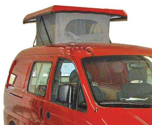 Tente à soufflet toit ouvrant, ultra-plat