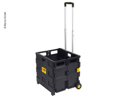 Transport trolley for gas cylinders, foldable, Reimo version