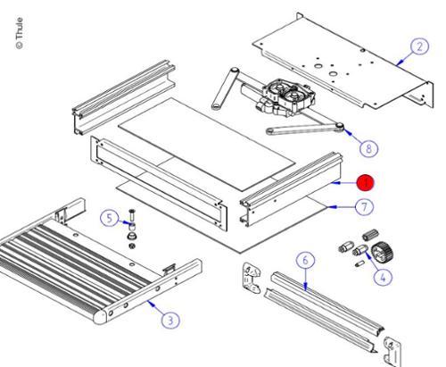 Montagerahmen SlideOut550