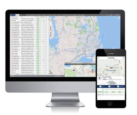 WT-500 3G GPS tracker til køretøjets placering