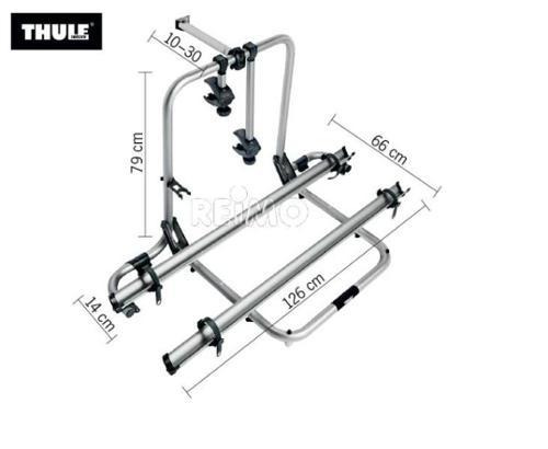Porte-vélos en aluminium pour garage arrière Sport G2