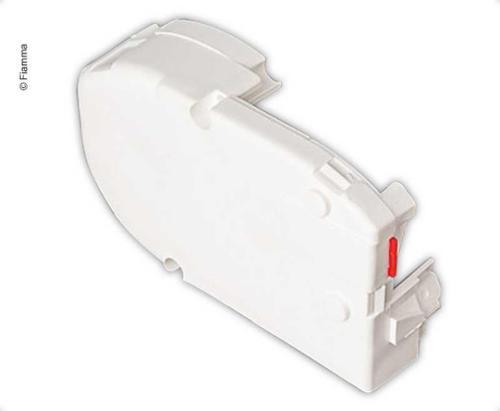 Tappo terminale sinistro, bianco per F45 Plus & F50