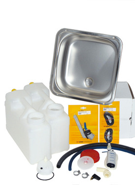 Canister water system for kitchen part Compact