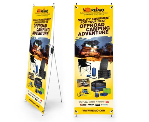 Offroad Camping X-Banner
