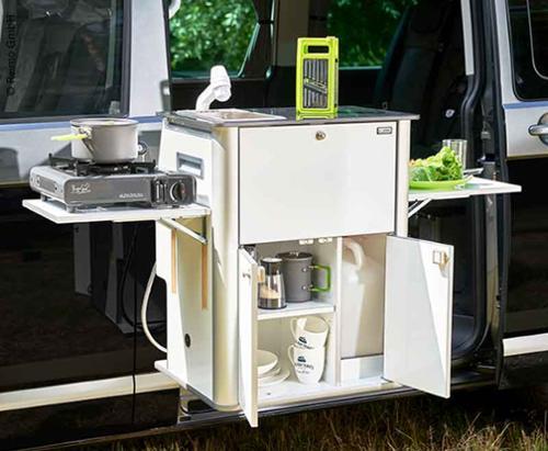 Küchenteil Easy-Küche für VW T6/T5 - Montage rechts