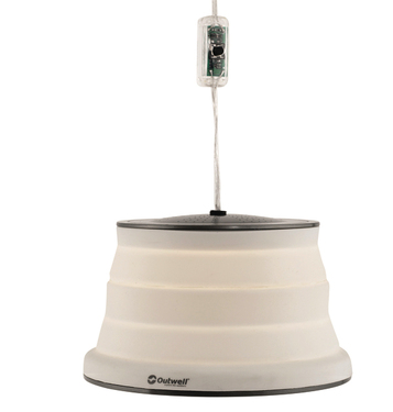 Lamp Orion 230 V, dimmable, white,