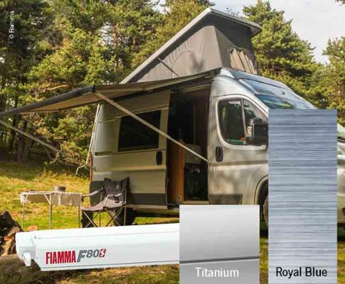 Fiamma F80S roof awning 4,25m, for vans and camper vans