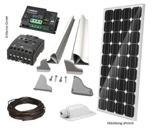 Solar komplet sæt 120 W fra Carbest