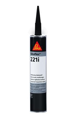 Sikaflex 221 i, speciale lijm, zwart 300ml