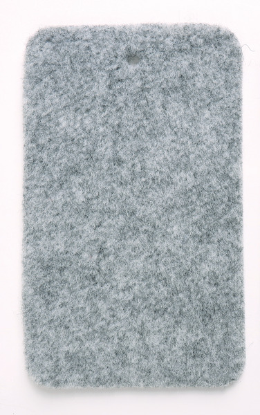 X-Trem Stretch Carpet Filz Silbergrau - Rolle 30x2 m