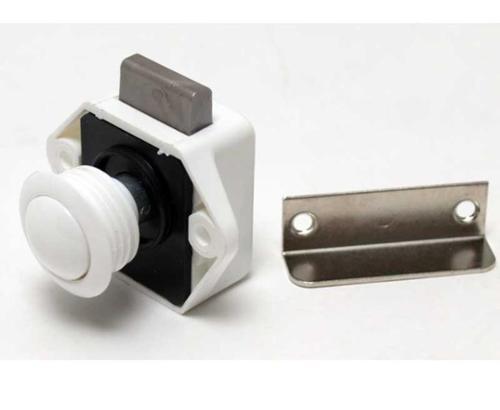 Push Lock Mini - Møbellås hvid
